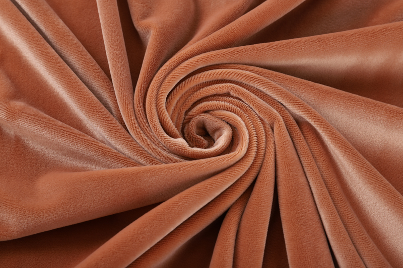 Single side- Khaki Supersoft  fabric