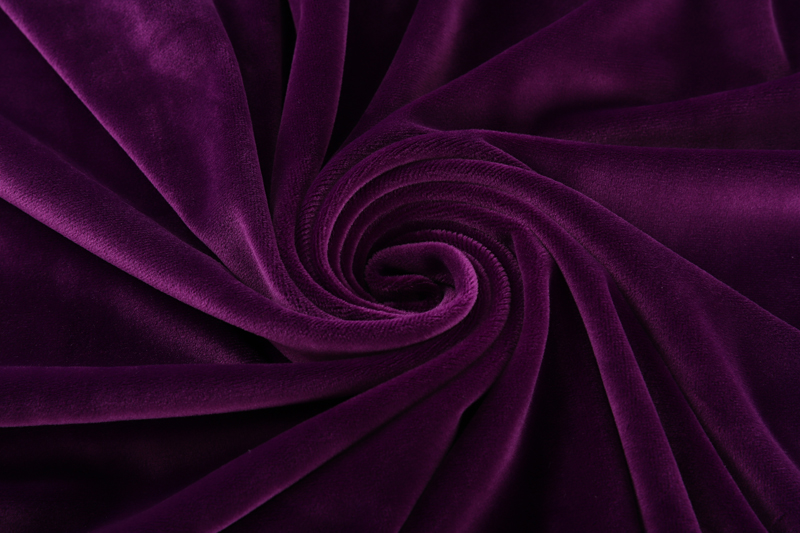 Single side- Dark purple  Supersoft  fabric