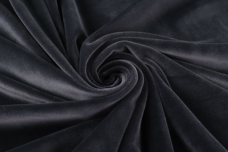 Single side- Black   Supersoft  fabric