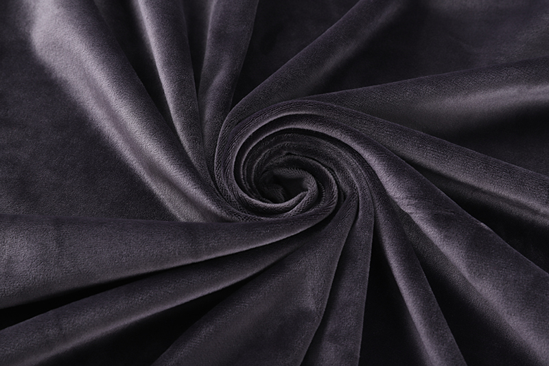 Single side- Dark gray Supersoft  fabric
