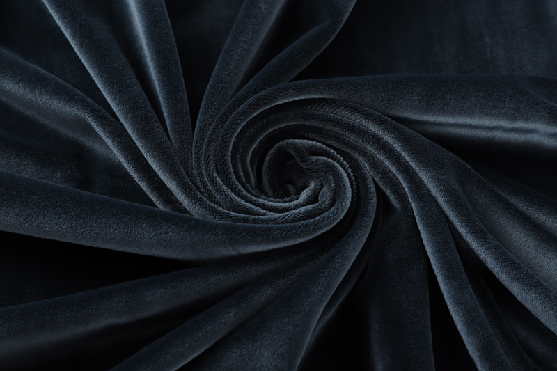 Single side- Dark blue Supersoft  fabric