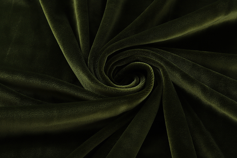 Single side- Military green Supersoft  fabric