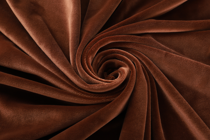 Single side- Coffee  Supersoft  fabric