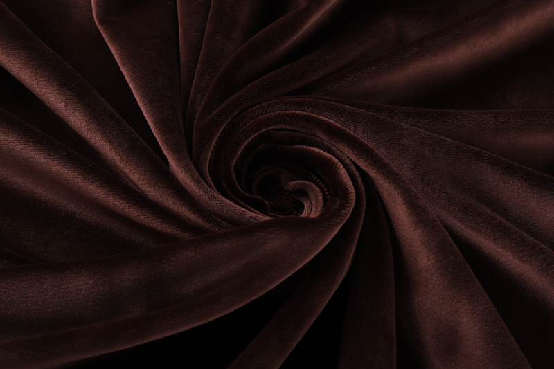 Single side- Dark coffee  Supersoft  fabric