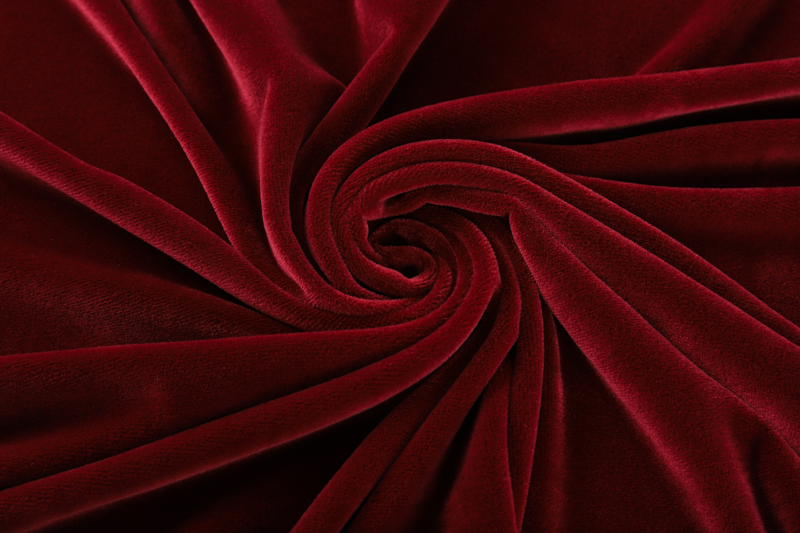Double sided- Dark red  Supersoft  fabric