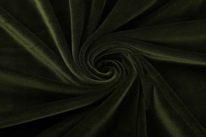 Double sided- Military green  Supersoft  fabric