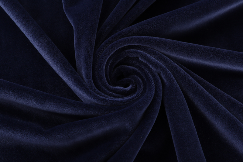 Double sided- Navy  Supersoft  fabric