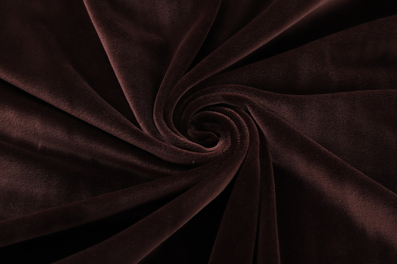 Double sided- Dark coffee  Supersoft  fabric