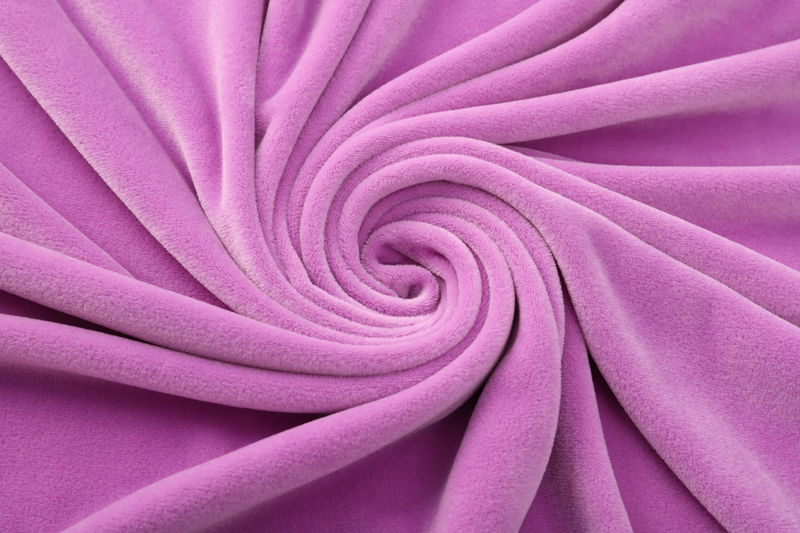 Double sided- Light purple  Supersoft  fabric