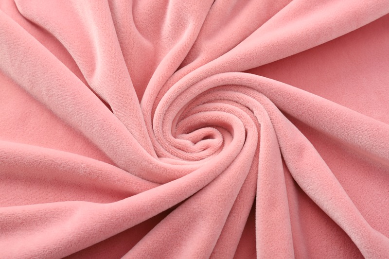 Double sided- Light pink  Supersoft  fabric
