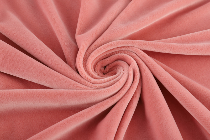Single side-  Light pink Supersoft  fabric