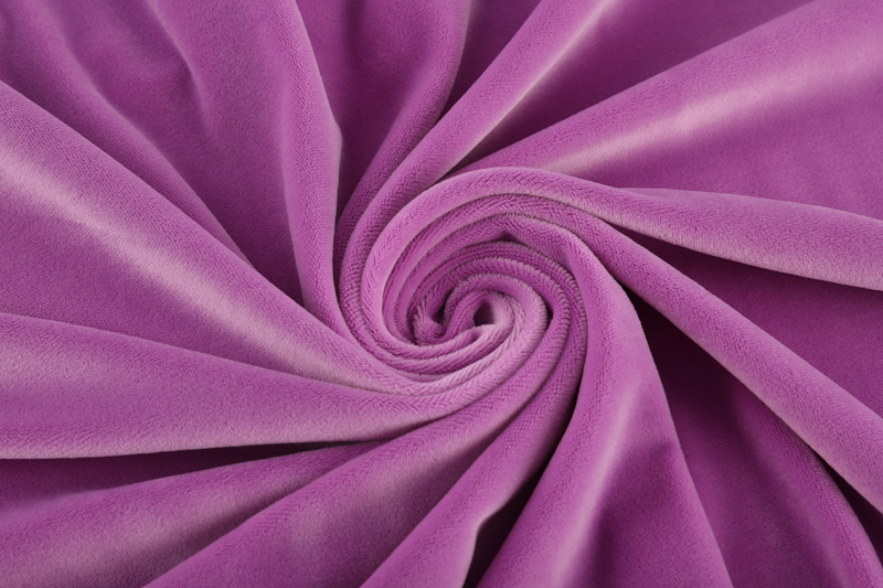 Single side- Light purple Supersoft  fabric