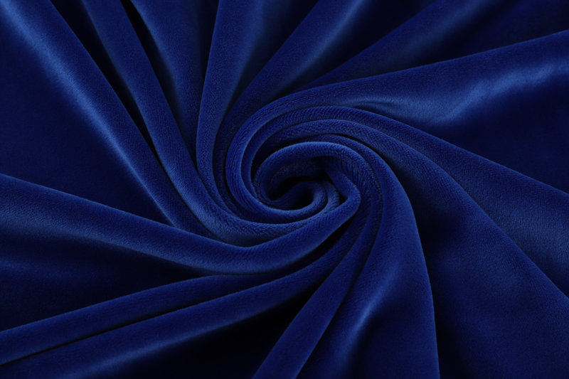 Single side- Royal blue  Supersoft  fabric