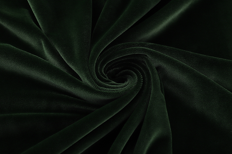 Single side- Dark green Supersoft  fabric