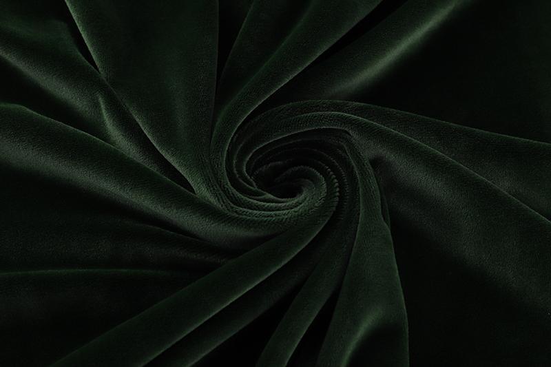 Single side- Dark green Supersoft fabric