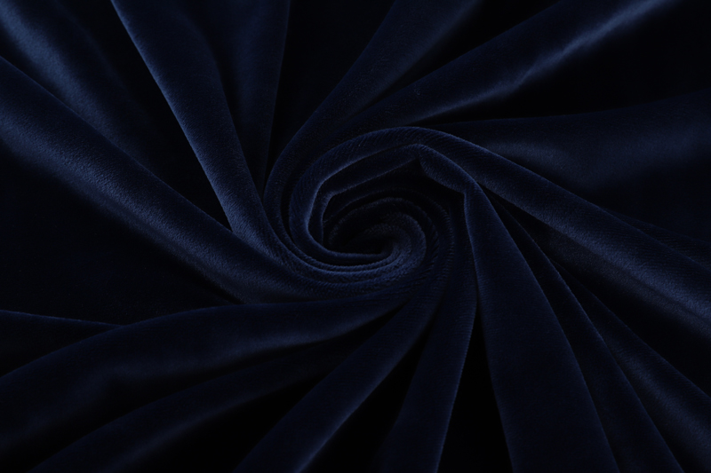 Single side- Navy  Supersoft  fabric